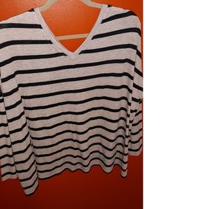 Express One Eleven Over Size Top Plus Sz